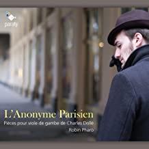 l'Anonyme parisien Charles Dollé Robin Pharo