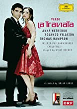 Verdi DVD La Traviata Netrebko Villazon