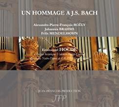 Emmanuel Hocde Un Hommage JS Bach