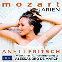 Annette Fritsch Mozart Arien Alessandro de Marchi