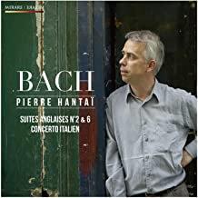Hantaï JS Bach Suites anglaises