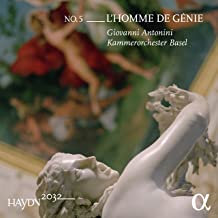 Giovanni Antonini Symphonies Haydn vol5 l'homme de génie