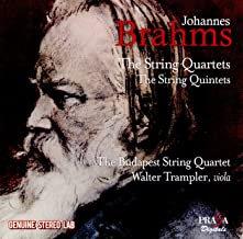 Brahms Budapest String Quartet Complete Quartets