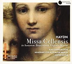 Haydn Missa Cellensis Rias kammerchor Akademie fur Alte Musik Berlin Justin Doyl