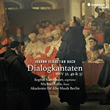 JS Bach DialogkantatenSophie Karthäuser