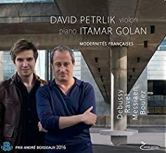 David Petrlik-Itamar Golan Modernités françaises