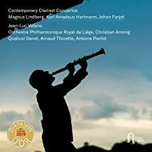 Contemporary Clarinet Concertos Lindberg, Hartmann, Farjot, Jean-Luc Votano