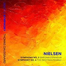 Nielsen Thomas Dausgaard Symphony 3&4