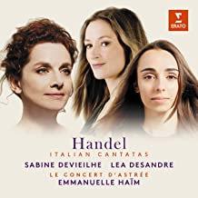 Handel Italian cantatas E Haïm Concert d'Astrée