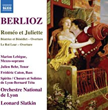 Berlioz Roméo et Juliette Orchestre National de Lyon Leonard Slatkin