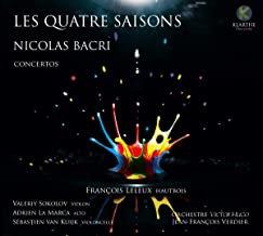 François Leleux Bacri Les saisons Orchestre Victor-Hugo Franche-Comté