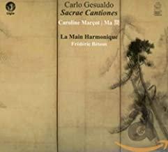 La Main Harmonique Gesualdo Sacrae Cantiones Frédéric Bétous