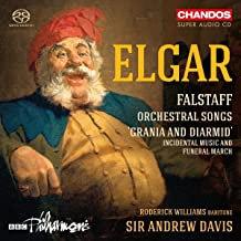 Elgar Falstaff Orchestral Songs Sir Andrew Davis