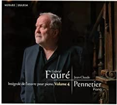 Jean-Claude Pennetier Fauré vol 4 Piano