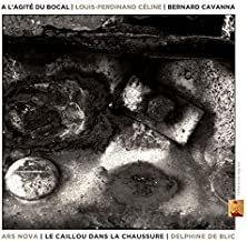 A l'agité du bocal Bernard Cavanna Ars Nova/Le caillou dans la chaussure/Delphin