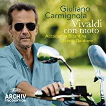 Giuliano Carmignola Vivaldi con moto Ottavio Dantone Accademia Bizantina