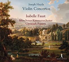 Joseph Haydn Concertos pour violon Isabelle Faust Munchener Kammerorchester