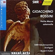 Rossini Petite Messe Solennelle SWR Vokalensemble Stuttgart Rupert Huber