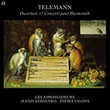 Alexis Kossenko les Ambassadeurs Telemann