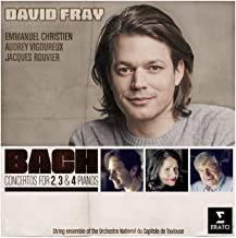 David Fray Bach Concertos for 2,3 & 4 Pianos Emmanuel Chretien-Audrey Vigoureux