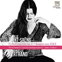 Emmanuelle Bertrand-Pascal Amoyel- James Gafligan Saint-Saens Cello Concerto