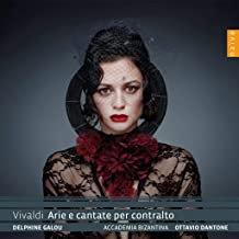 Delphine Galou A.BIZANTINA. Ottavio DANTONE VIVALDI Arie cantates pour contralto