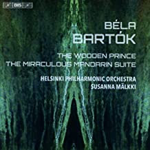 BARTOK: The Wooden Prince Miracolous Mandarin suite Helsinki Philharmonic Orches