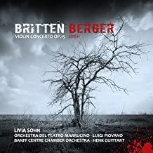 Britten-Berger Livia Sohn Concertos violon