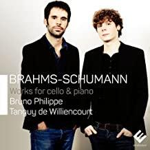 Brahms Cello Sonates Bruno Philippe-Tanguy deWilliencourt