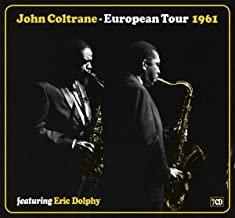 John Coltrane European Tour 1961 featuring Eric Dolphy coffret 7 CDs