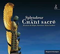 Splendeur du Sacré Maîtrise de Dijon Alain Chobert