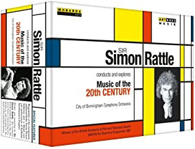 Coffret Simon Rattle Music of 20 th DVD