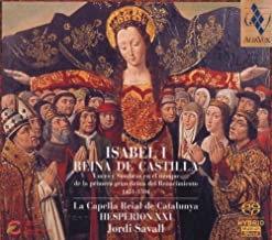 Savall Isabel Reine de Castille