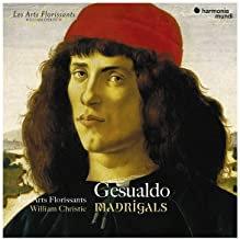 Gesualdo Madrigals William Christie les Arts Florissants