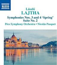 Laszlo Lajtha symphonies 3&4 Suite N°2 Pècs Symphony Orchestra - Nicolas Pasquet