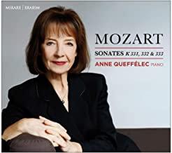 Anne Queffélec Mozart Sonates K331, 332 & 333