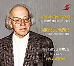 Haendel Michel Chapuis Concertos pour Orgue