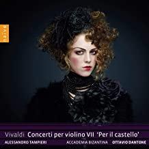 """Vivaldi ACCADEMIA BIZANTINA O. Dantone Concerti Violino VII""""Per il Castello"""""""