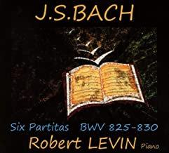 JS Bach BWV825-830 Robert Levin