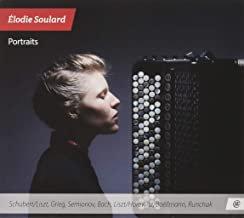 Elodie Soulard Portraits Accordéon solo Schubert,Liszt, Semionov, Bach...