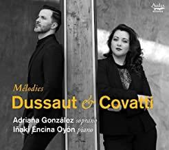 DUSSAUT & COVATTI Mélodies Adriana Gonzalez-Inaki Encina Oyon