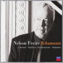 Nelson Freire Schumann Carnaval, Papillons, Kinderszenen, Arabeske Piano