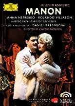 DVD Manon Massenet Netrebko Villazon