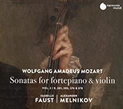 Sonates Mozart Isabelle Faust/Alexandre Melnikov sonates