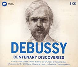 Debussy Centenary Discoveries Cofrret 3 CDS