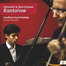 Alexandre Kantorow sonates françaises