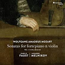 Mozart sonatas for fortepiano et violin Isabelle Faust Alexandre Melnikov Vol1