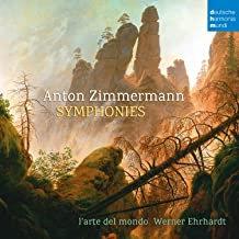 Anton Zimmermann Symphonies l'Arte del Mondo Werner Ehrhadt