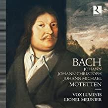 Bach Motetten Vox luminis Meunier