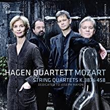 Hagen Quartet Mozart Quartets K.387 & K.458